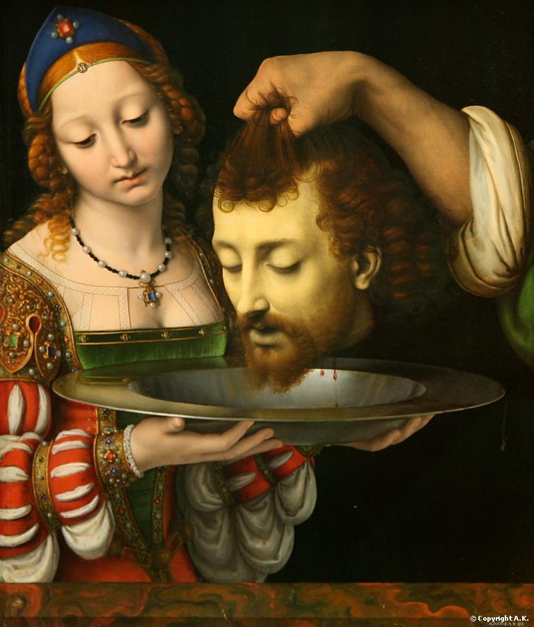 Resultado de imagem para a cabeça de joão batista